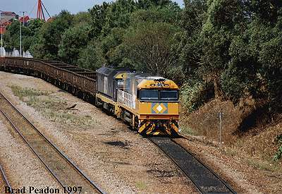 NR freight at Newcastle>